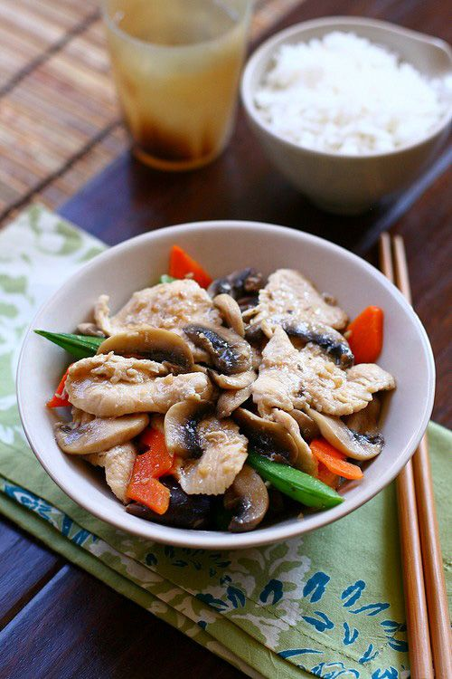 207 best chinese food images on pinterest chinese food asian moo goo gai pan chicken with mushroom stir fry chinesefood recipe forumfinder Image collections