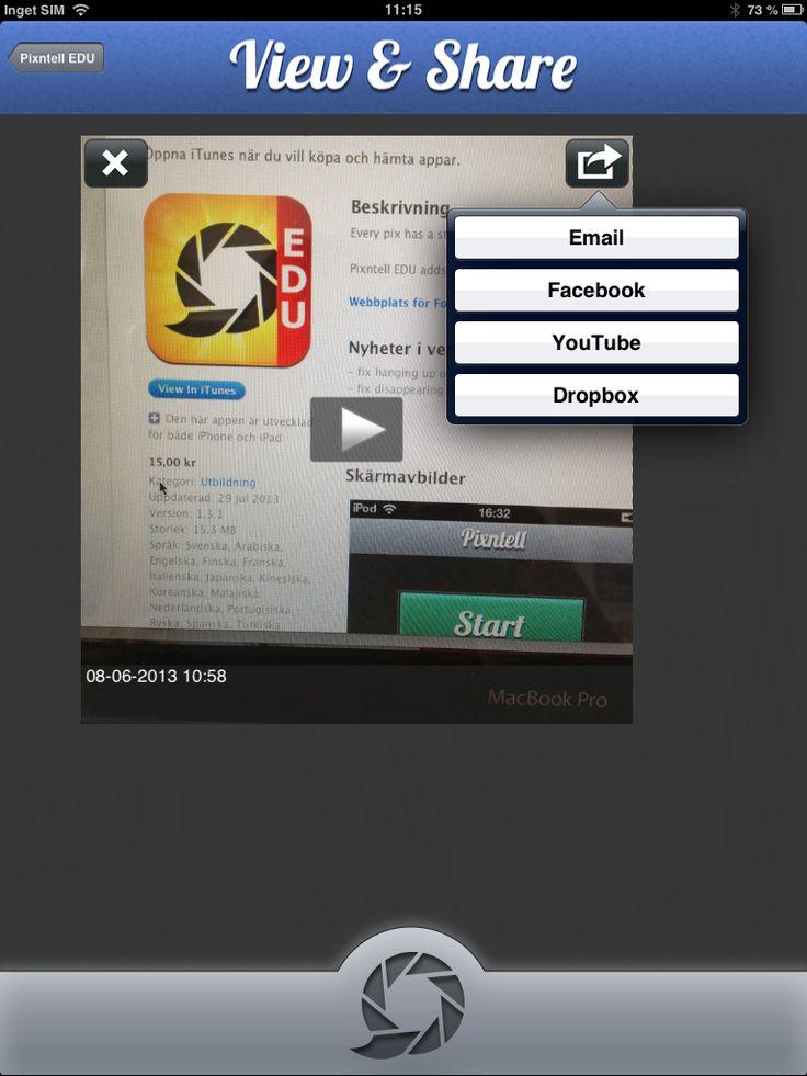 Pixntell är en lättanvänd app för att spela in en enkel video, som man sedan kan publicera. Ta egna bilder på exempelvis en utflykt, ett studiebesök, ett klassrumsbesök, för att presentera ett specifikt ämne, för att dokumentera eller berätta en historia. Lägg sedan in bilderna i den ordning du vill ha dem i appen.