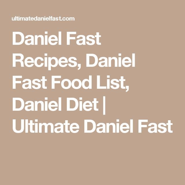 What Is the Daniel Fast, Chris Pratt's 21-Day, Bible-Inspired Diet?