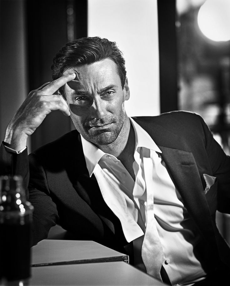 Jon Hamm as 'Don Draper' in Mad Men (2007-15, AMC), photo by Vincent Peters