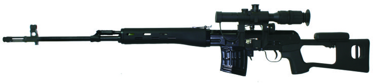 Classic Army Dragunov SVD with standard scope