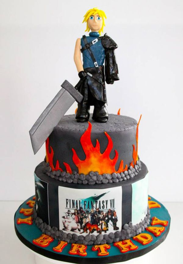 The  Best Video Game Cakes Ideas On Pinterest Video Game - Video game birthday cake
