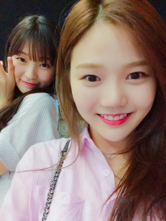 Arin and Hyojung