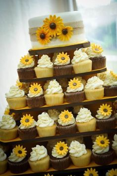 sheetcake with sunflowers and daisies - Google Search