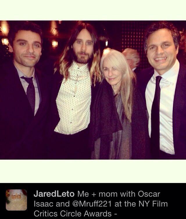 Jared & Mama Leto
