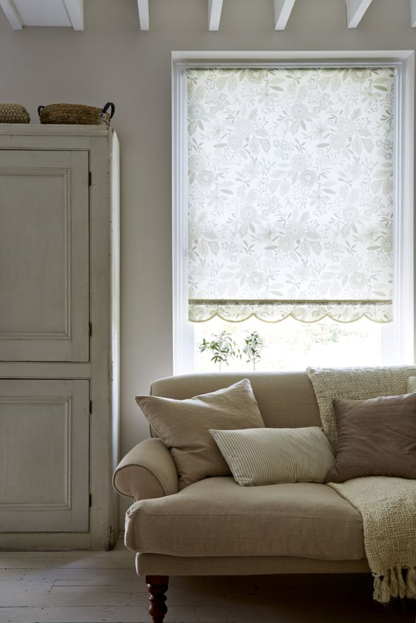 Use soft, muted tones and added textures to create the hygge feeling within your home. Our Betsy Cream Roller blind is the perfect choice for achieving a warm, cosy effect.