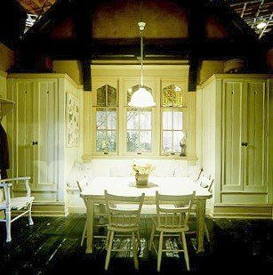 Practical Magic kitchen - This is the kitchen from the 1998 witchy-fun movie, designed by the duo of Robin Standefer and Stephen Alesch, who went on to create wonderful real houses under the umbrella of their design firm Roman and Williams.