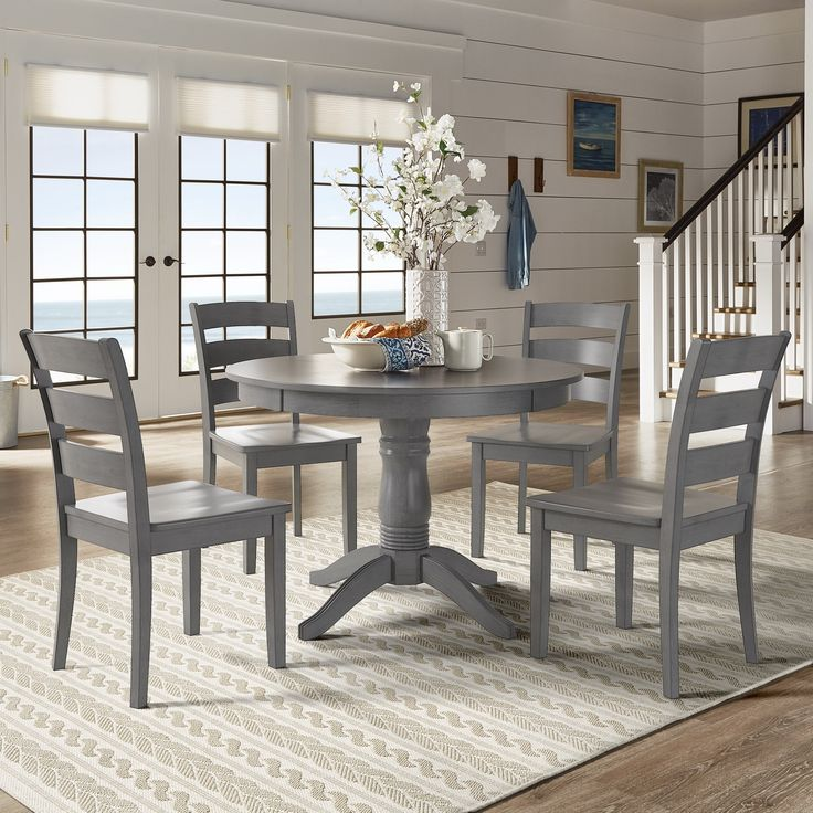 Grey Kitchen Dining Sets: Best 25+ Ladder Back Chairs Ideas On Pinterest