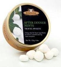 Simpkins After Dinner Mints - 4.4 oz