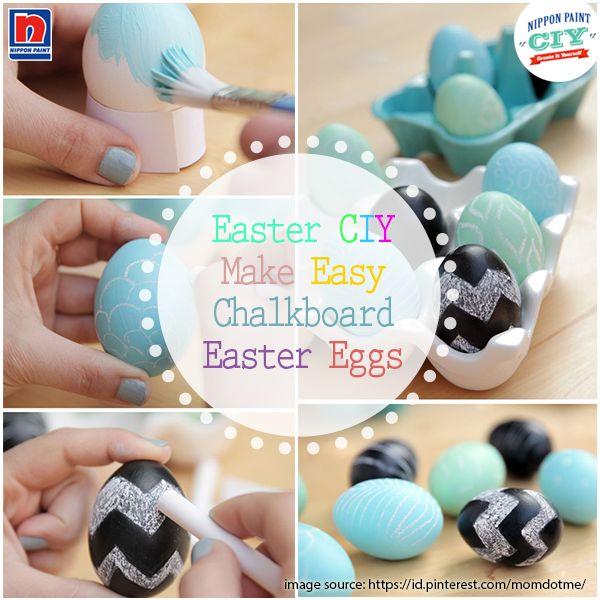 Menghias telur Paskah adalah kegiatan menyenangkan yang bisa Sahabat Nippon Paint lakukan bersama dengan keluarga. Ada banyak cara mudah yang bisa Sahabat Nippon Paint lakukan seperti CIY ini. Sangat mudah bukan? Mari coba CIY ini di rumah!   *CIY Telur Paskah ini hanya untuk hiasan ya Sahabat Nippon Paint, bukan untuk dikonsumsi. :)  #ImajinasiTanpaKompromi #CIY