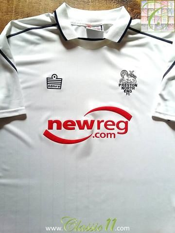 Relive Preston North End's 2004/2005 season with this original Admiral home football shirt.