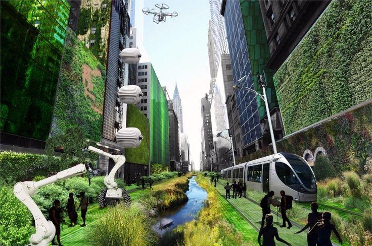 Modelo de design ecológico proposto por Mitchell Joachim. Veja como alguns arquitetos idealizam as cidades do futuro!http://www.blogdaarquitetura.com. -- Aproveite para me seguir também no perfil @eduardocavalcanti.