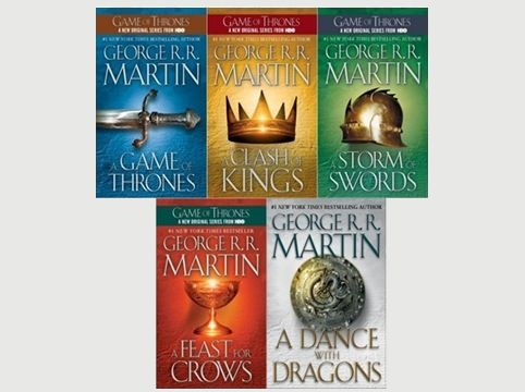 A song of Fire and Ice series! (Game of Thrones)