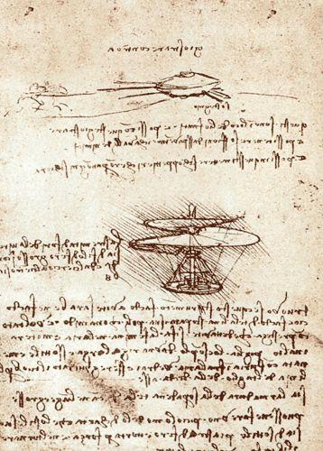 Leonard de vinci vis a rienne vers 1487 extrait du manuscrit b institut de france paris la - Photo leonard de vinci ...