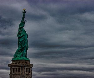 Cities Photograph - Statue Of Liberty by Martin Newman