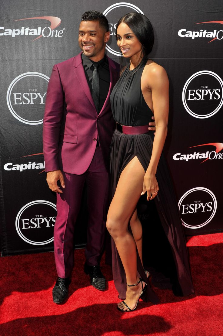 Slayed: Ciara And Her Boo Russell Wilson At The 2015 Espy Awards - http://urbangyal.com/slayed-ciara-and-her-boo-russell-wilson-at-the-2015-espy-awards/