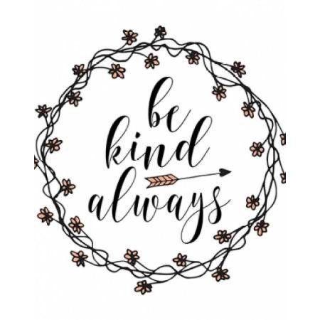 Be Kind Always Canvas Art - Tara Moss (22 x 28)