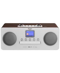Buy Bush Bluetooth DAB All In One Micro Hifi System at Argos.co.uk - Your Online Shop for Hi-fi systems.