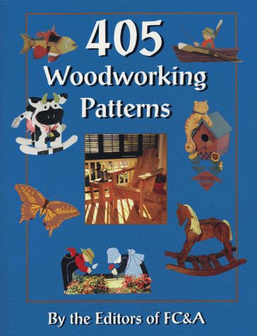 405 Woodworking Patterns:   The Southwestern section of this fun pattern book includes a gecko welcome peg rack, adobe bookends, cactus shelf, coyote switch plate cover, and more.