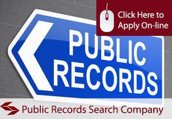 self employed public records search company liability insurance