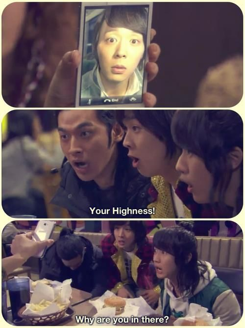 Rooftop Prince An amazing drama! :) Very funny and cute! :)