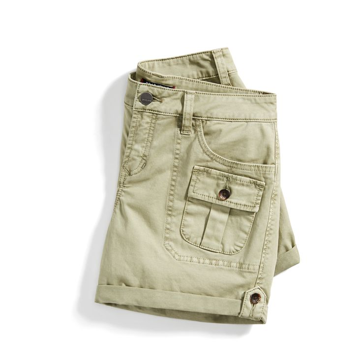 Khaki cargo shorts for women from Stitch Fix for summer 2017. #affiliate