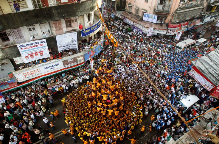 Krishna Janmashtami, happening the day after we arrive in India.