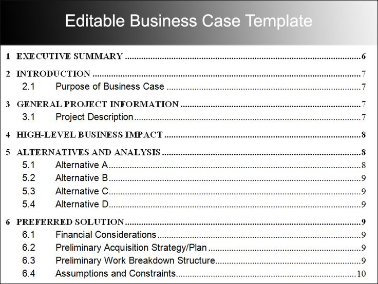 Más de 25 ideas increíbles sobre Business case template en - business case templates free