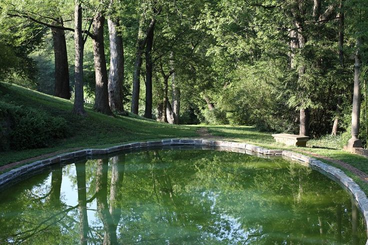 The gardens at Dumbarton Oaks, a perfect place to escape the city (or schedule an illicit rendezvous.)
