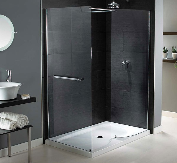 Aqualux Shine Walk In Shower Enclosure 1400 x 800mm  £360