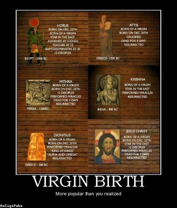 Image result for born of virgin memes