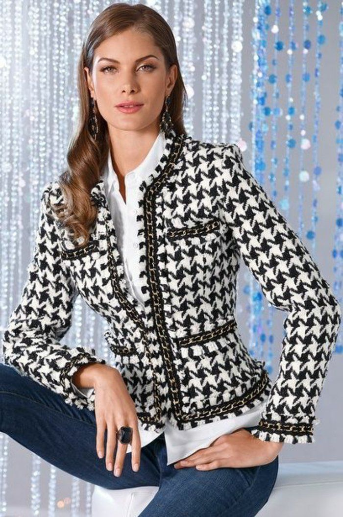1001 id es pour veste printemps femme comment l 39 assortir blazers coats and professional attire. Black Bedroom Furniture Sets. Home Design Ideas