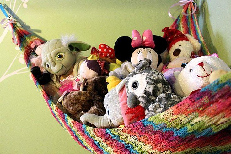 How to Make a Stuffed Animal Hammock