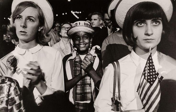 Max Scheler | Anhänger von Lyndon B. Johnson in New Orleans | Museum für Kunst und Gewerbe Hamburg | 1964