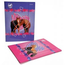 Starpak Sweet Horses opbergmap|basic artikelen|stay cool @ school - Vivolanda