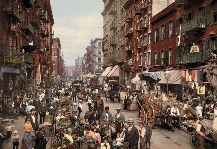 The first colour photograph of America