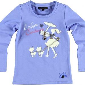 Lavendel kleurig shirt, Le Chic € 37,95, 92-140, verkrijgbaar in de winkel of via http://www.mijnwebwinkel.nl/winkel/blauw/a-29701515/nieuwe-collectie/shirt-i-love-couture-lavendel-sd4wi13/