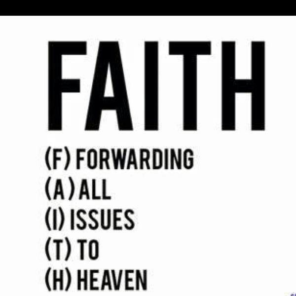 Faith is