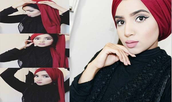 Voici Comment réaliser le Hijab Turban en Quelques Minutes