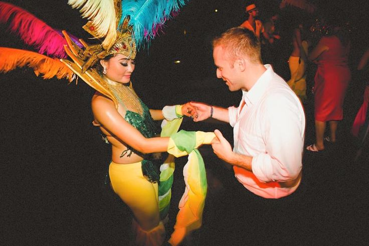 Because who wouldn't want to dance the night away with Carnaval Dancers on their Wedding?!