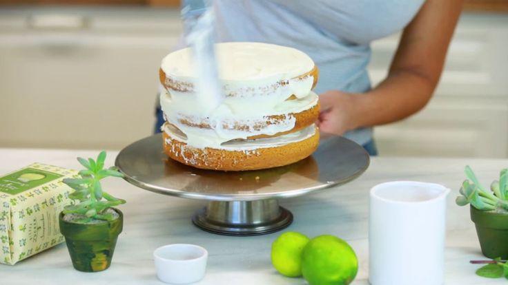 Rezept: Mojito Naked-Cake - Zubereitung mit Wiener Zucker Schritt für Sc...