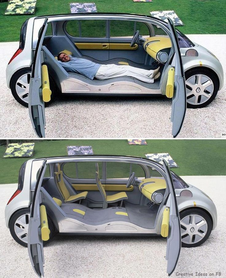 Awesome Car Design For Long Road Trips!
