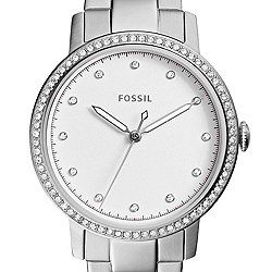 Neely Three-Hand Stainless Steel Watch