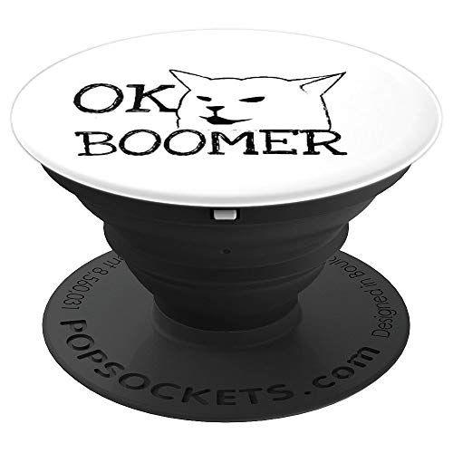 Funny Meme Ok Boomer With A Cat Gift For Gen Z Millenni Https Www Amazon Com Dp B081mlt19p Ref Cm Sw R Pi Dp U X Dev1dbzdkd Ok Boomer Loner Shirts Gifts