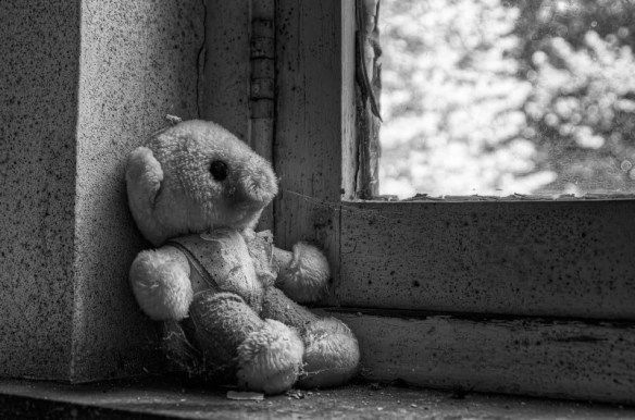 psychiatrisch ziekenhuis - Lonely little bear.