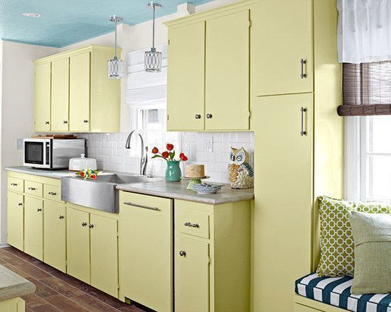 Complete Your Furniture and Home Improvement Needs at Lowe's Home Improvement Locations : Lowes Home Improvement Product With Creamy White Kitchen Cabinet White Tiles Backsplash Loft Window Covering Window Seat Blue Ceiling #lowe'shomeimprovementlocations, #homeimprovementkitchencabinets #windowcoverings