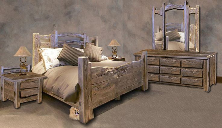 king bed american western stock yard fence inspired
