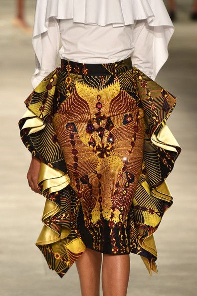 All Things Ankara: Fashion Events: David Tlale Spring/Summer 2015 Collection at…