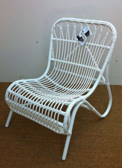 Cruz Outdoor Chair White