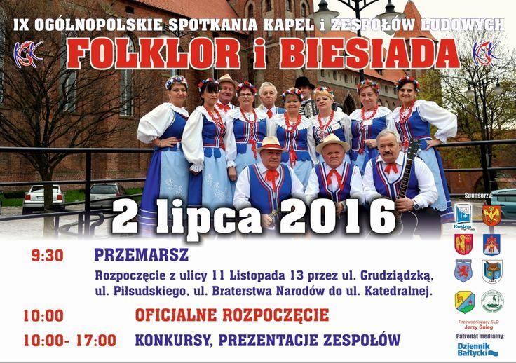Folklor i biesiada, 2.07.2016 r.